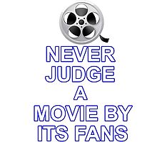 Never Judge A Film by Hadam10Rose