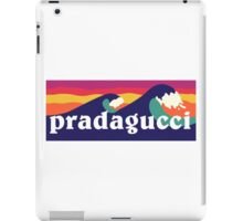 Pradagucci waves iPad Case/Skin