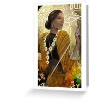 Josephine Tarot Greeting Card