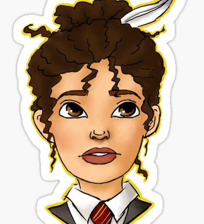 Hermione Bust Sticker