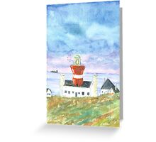 The Light At The End Of The World Greeting Card