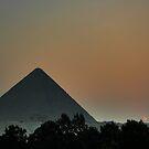 Pyramid Sunset by Roddy Atkinson