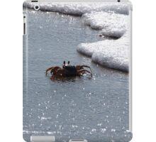 Who Says I'm Crabby? iPad Case/Skin