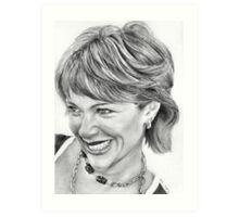 Lauren Holly Art Print