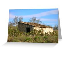 Vine keeper's cottage Greeting Card