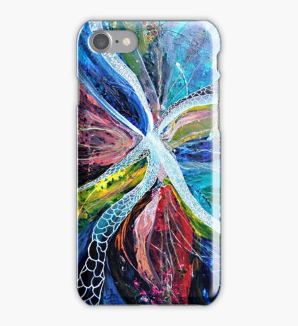 Spectral transformation from energy to light iPhone Case/Skin