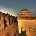 Serpents and the Pyramid of Djoser by Roddy Atkinson