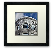 CORNER FACADE Framed Print