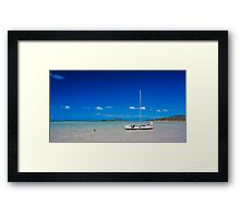 Dingo Beach Framed Print