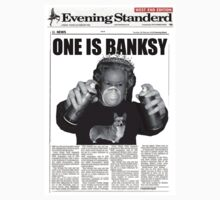 One is Banksy by kerryward
