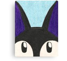 Jiji's Look Canvas Print