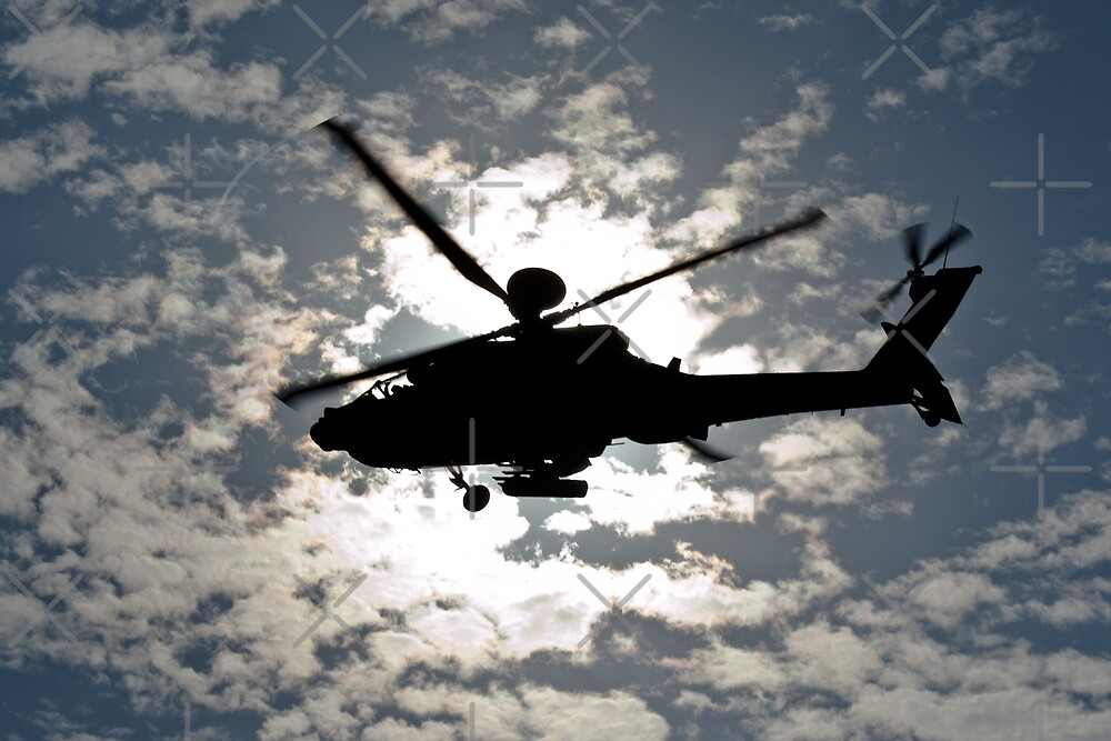 Apache Silhouette by Country  Pursuits