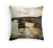 Twelve Apostles, Great Ocean Road, Victoria Throw Pillow