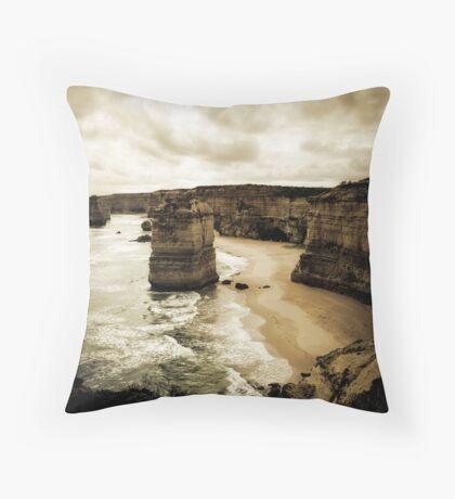 Twelve Apostles, Great Ocean Road, Victoria Throw Pillow