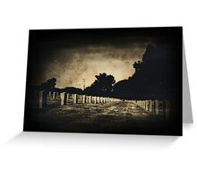 I Feel You .. Are You Here? Greeting Card