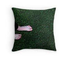 feet 2 Throw Pillow