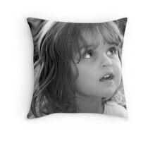 Eyes of an Angel Throw Pillow
