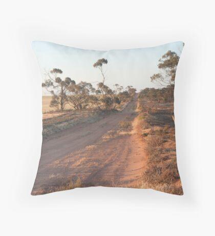 Bush track Throw Pillow