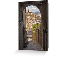 Through the Portal Greeting Card