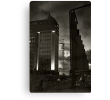 Wanted: Dark Knight Canvas Print