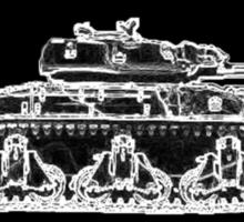 WW2 Aussie tank Sticker