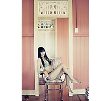 Rose Coloured Walls Photographic Print