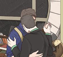 Jack and Ianto Dancing by oliviacanart