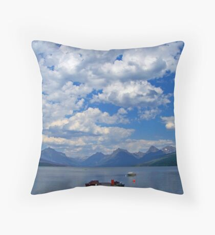 Glacier 16 Throw Pillow