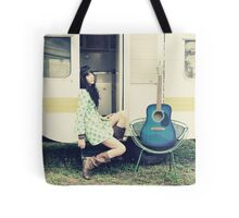 Traveling Music Tote Bag