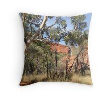 King's Canyon detail Throw Pillow