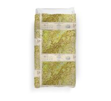 Maine USGS Historical Map Lewiston 707443 1950 250000 Duvet Cover