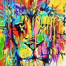 Just Lion in the Grass by Michelle Potter