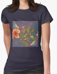 Seamless floral background with petunia T-Shirt