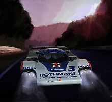 Porsche 956 at the Ring by Lightrace