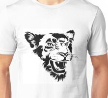 Angry lioness Unisex T-Shirt