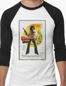 Cleopatra Jones (Red) Men's Baseball ¾ T-Shirt