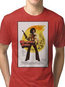 Cleopatra Jones (Red) Tri-blend T-Shirt