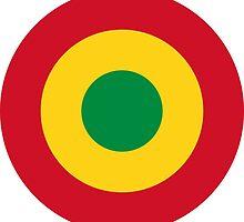Roundel of Mali Air Force by abbeyz71