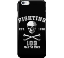 Fighting 103 Jolly Rogers iPhone Case/Skin