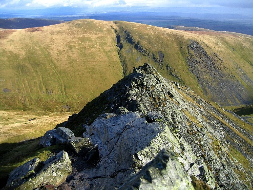 Sharp Edge Blencathra 2004 by mikebov