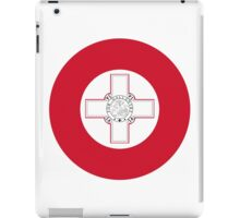 Roundel of the Maltese Air Force iPad Case/Skin