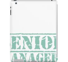 8th Day Senior Managers T-shirt iPad Case/Skin