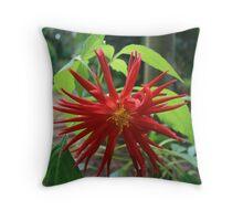 Red Star Throw Pillow