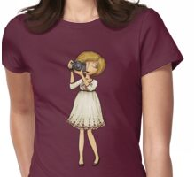 Susan the Wedding Photographer Womens Fitted T-Shirt