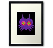 Majora's Mask- Ancient Ominous Mask Framed Print