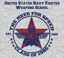 Top Gun Class of 86 - Weapon School by simonbreeze