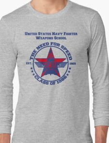 Top Gun Class of 86 - Weapon School Long Sleeve T-Shirt