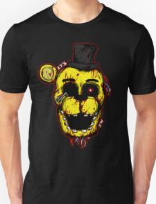 Bloody Golden Freddy FNAF T-Shirt