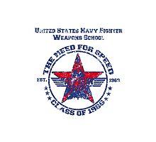 Top Gun Class of 86 - Weapon School - Warn Look by simonbreeze