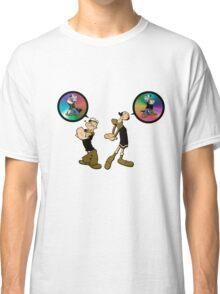 Popeye and Olivia 3 Classic T-Shirt
